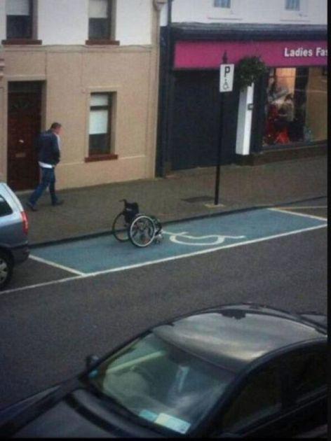 Инвалид на голову