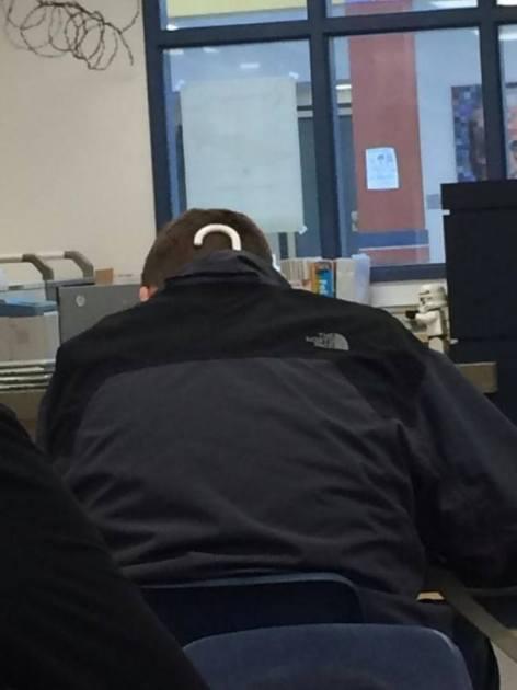 Опаздывал на экзамен