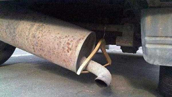 Надёжное крепление трубы