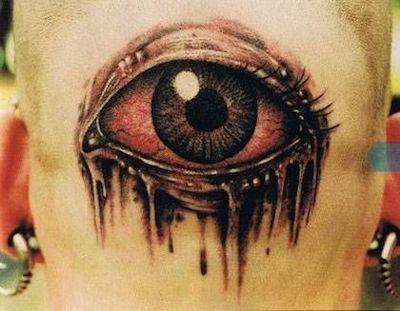 Окровавленный глаз